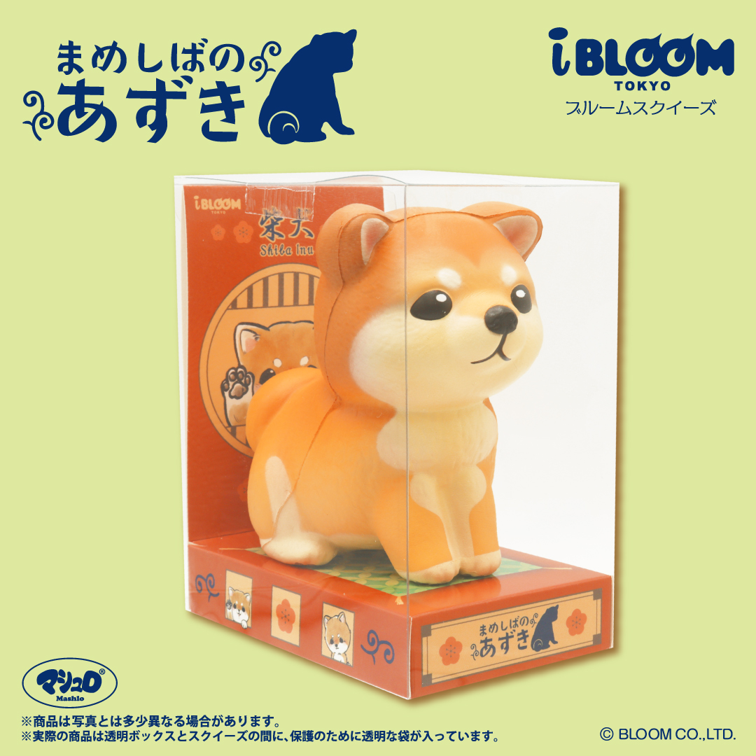 iBloom Azuki the Shiba Display Packaging Box